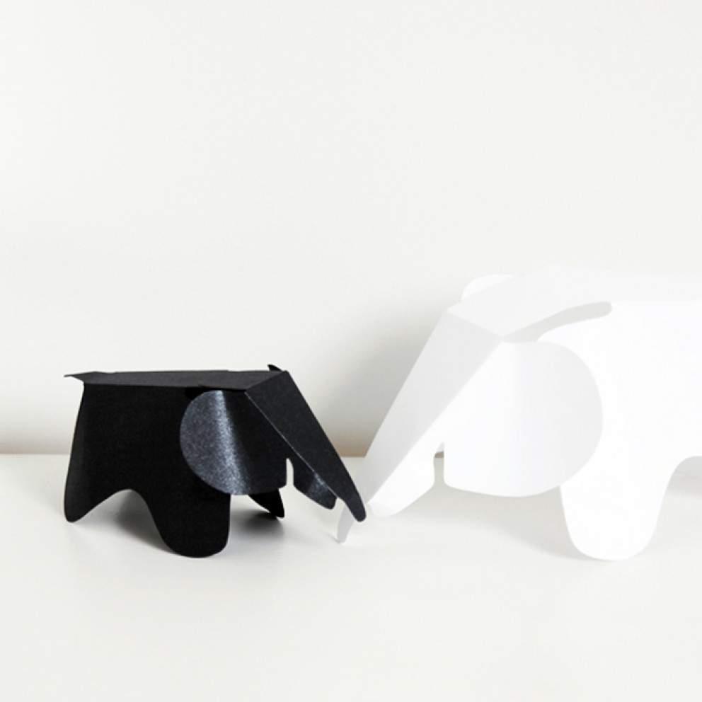 ELEPHANT EAMES PAPER PAPIER DIY VITRA
