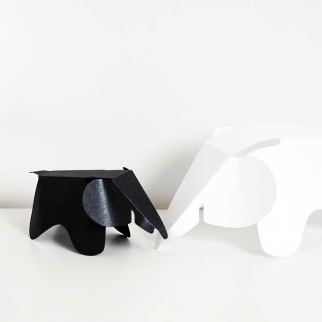 DIY – Fabriquez votre ELEPHANT EAMES VITRA