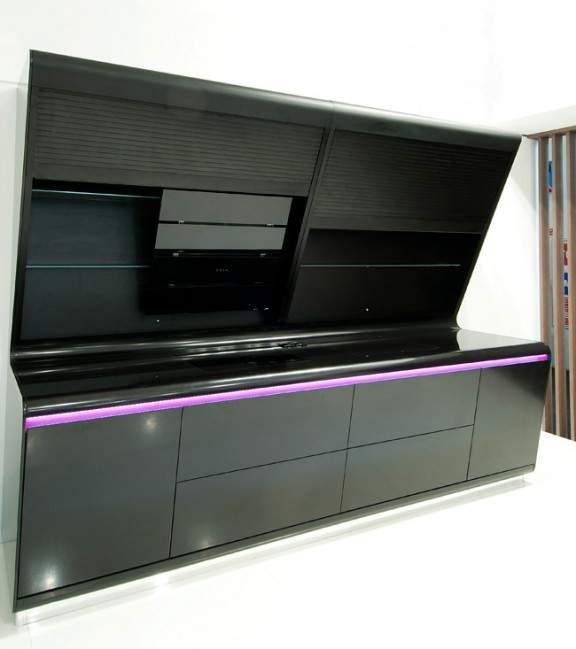cuisine design aran cucine x hi macs x karim rashid. Black Bedroom Furniture Sets. Home Design Ideas