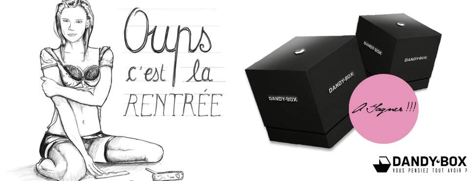 JEU CONCOURS DANDY BOX