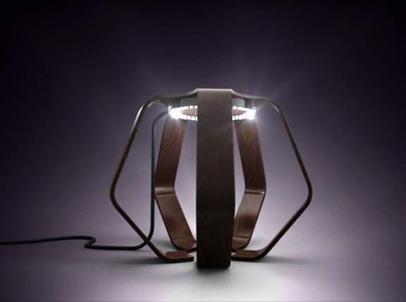 lampe design lignum par barnab ribay deco design blog design magazine d coration. Black Bedroom Furniture Sets. Home Design Ideas