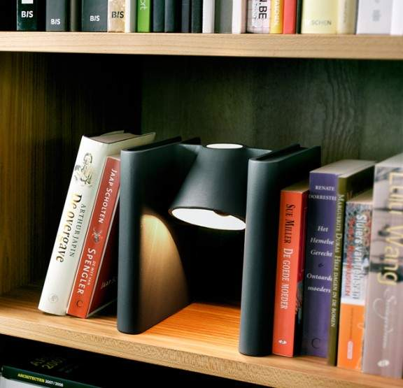 lampe pour biblioth que mr ed book end functionals x roderick vos jo yana. Black Bedroom Furniture Sets. Home Design Ideas