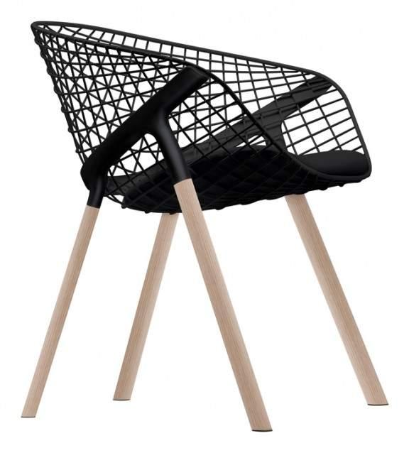 Fauteuil design kobi alias x patrick norguet jo yana for Chaise grillage design