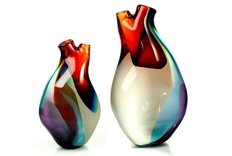 Vases design VENTRICLE par Eva MILINKOVIC