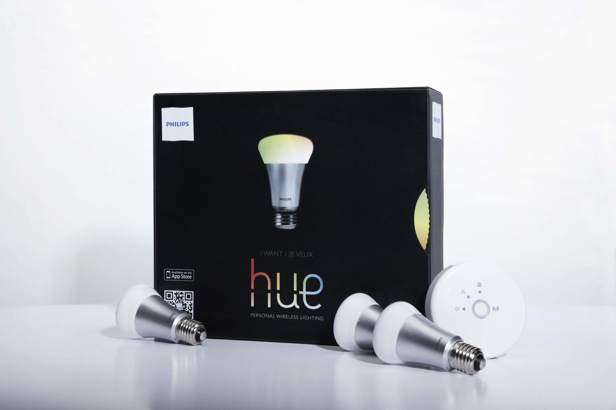 Philips lance HUE, l'éclairage du futur…
