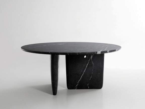 Table design en marbre tobi ishi b b italia jo yana for Tisch japanisches design