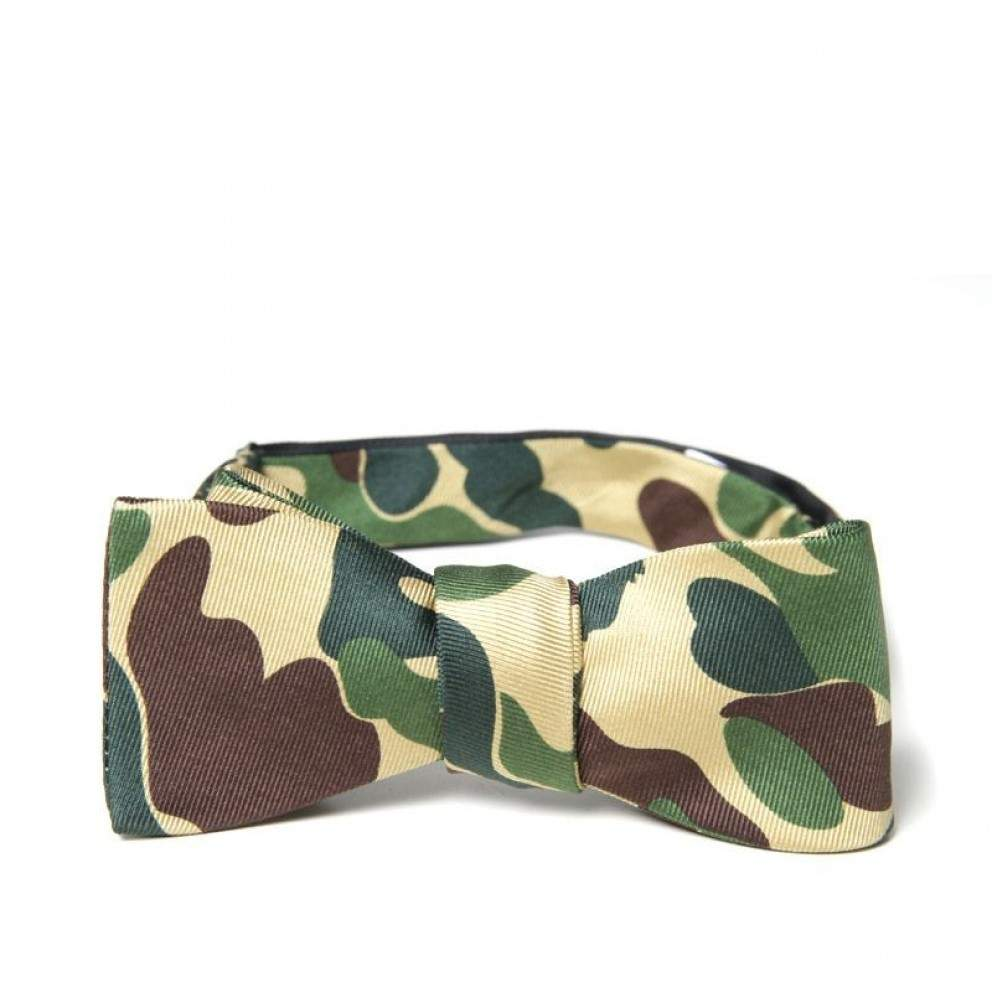 Noeud Papillon Mr. BATHING APE ABC Print
