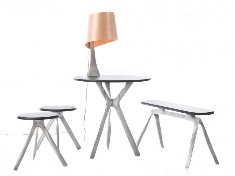 Mobilier & Luminaires STENCIL par Julien CARRETERO