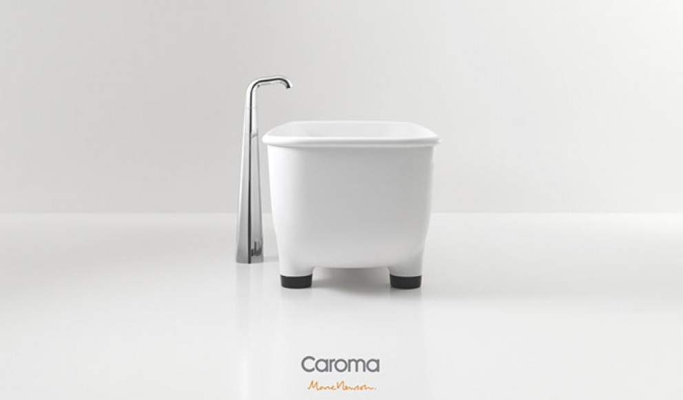 salle de bain CAROMA x Marc NEWSON