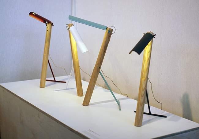 M&O 13 : Lampe design TUCA-TUCA par Elia MANGIA
