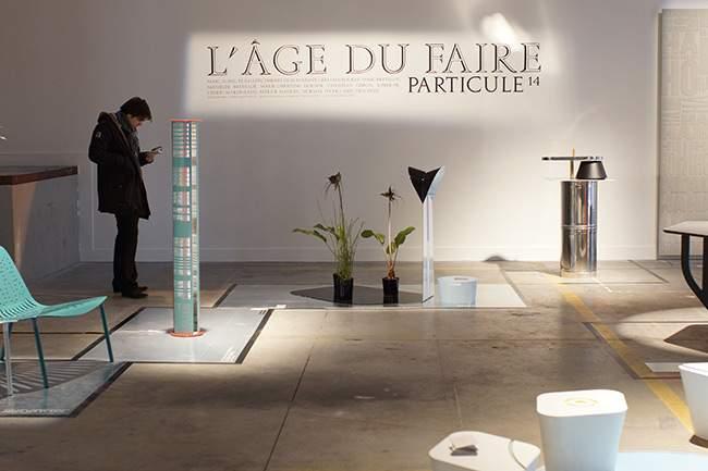 Exposition L'ÂGE DU FAIRE par PARTICULE 14