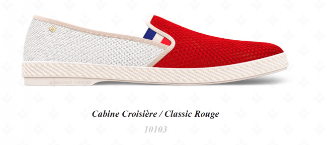 10103 CABINE CROISIERECLASSIC ROUGE (MAY)
