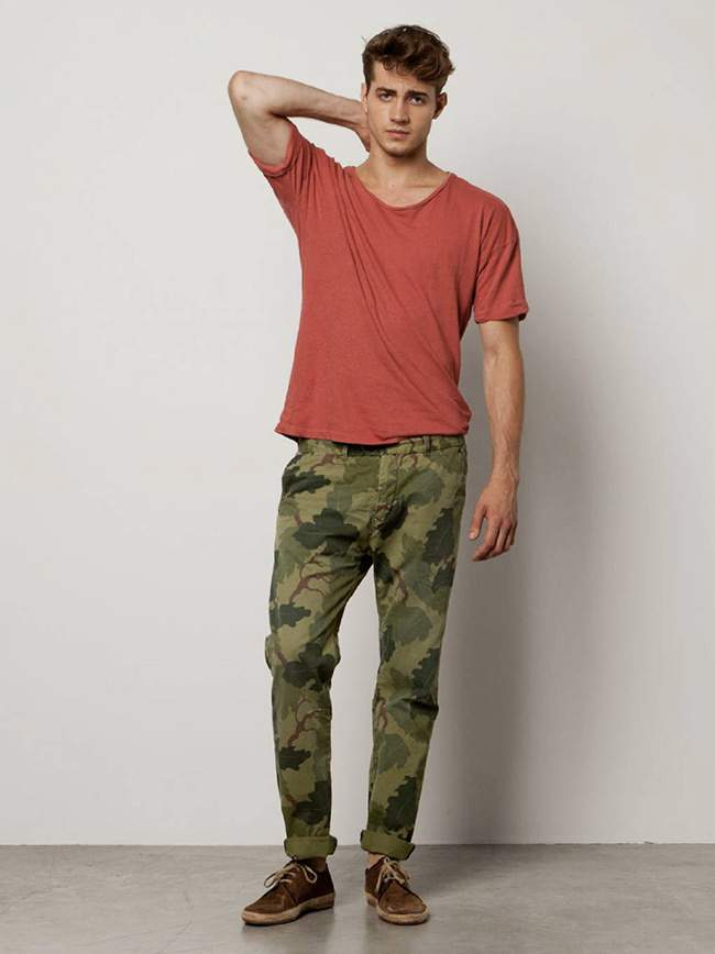 BOWIE - Chino imprimé Floral Camo SCOTCH & SODA
