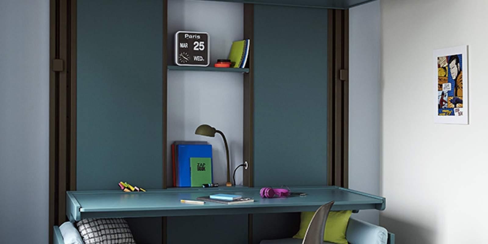 lit mezzanine espace loggia jo yana. Black Bedroom Furniture Sets. Home Design Ideas