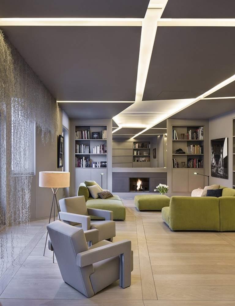 Appartement Contemporain Parisien W par Regis BOTTA