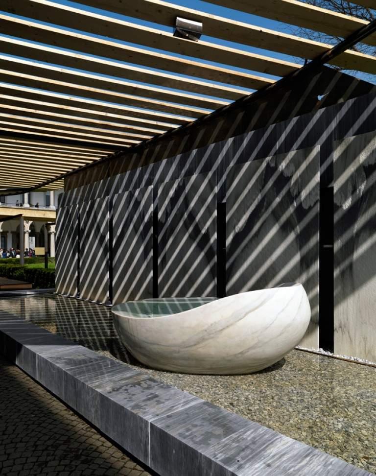 Installation SenSai Design Archizero x Franchi Umberto Marmi