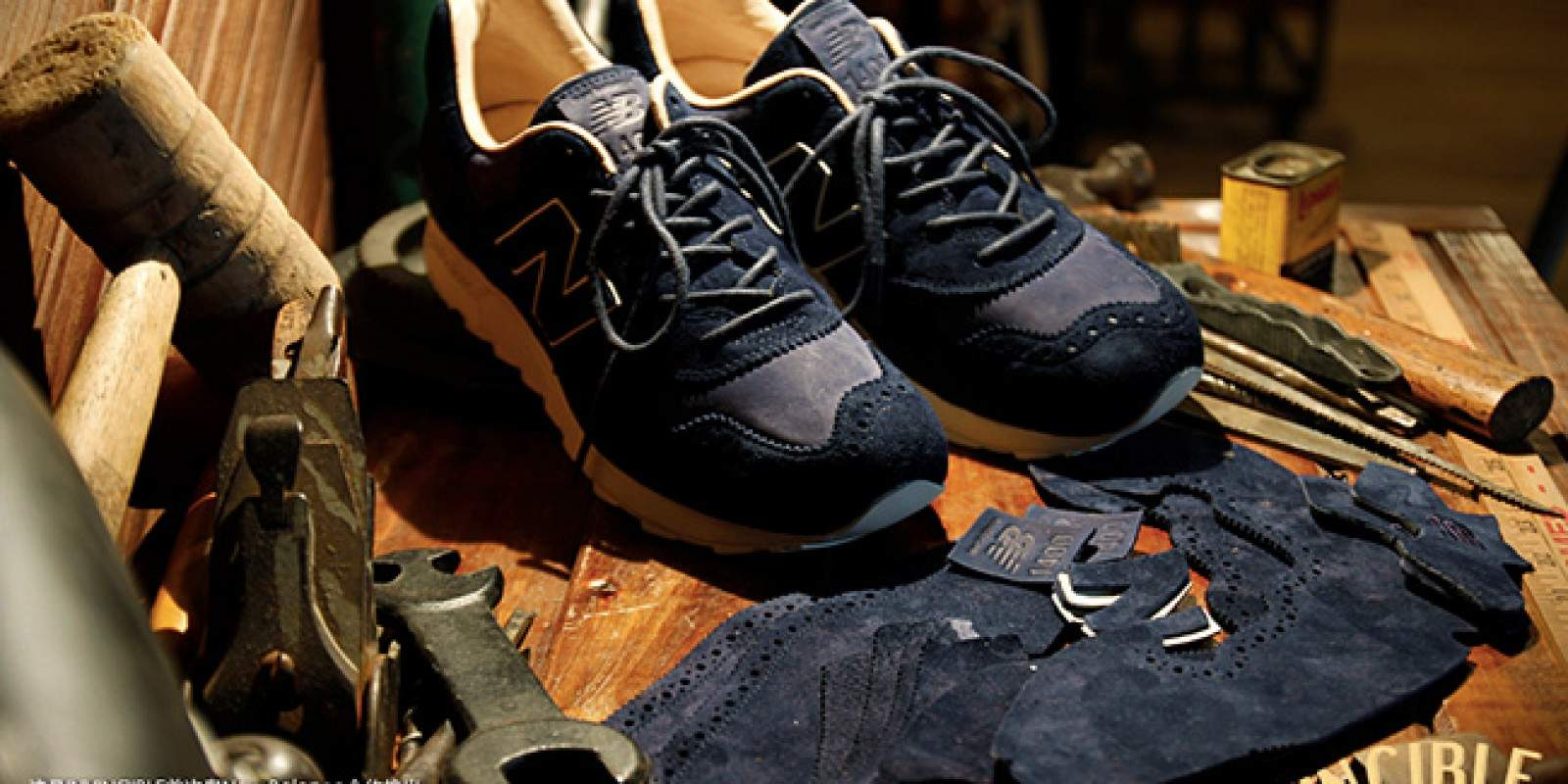 Sneakers brogue INVINCIBLE x New Balance M1400INV