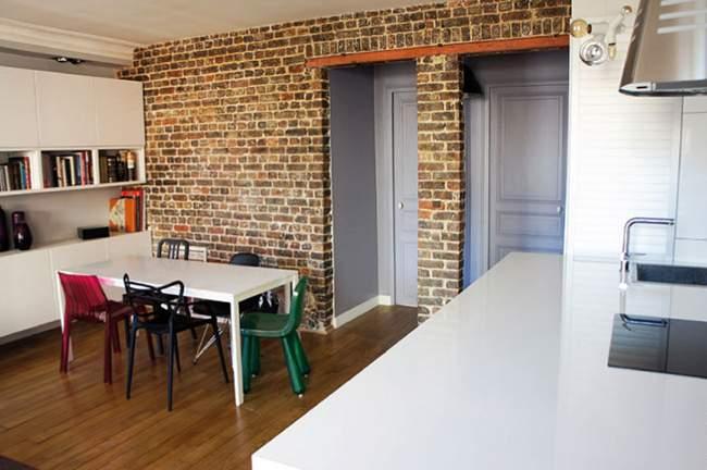 Appartement parisien r nov par tony lem le deco design blog design mag - Deco appartement ancien ...
