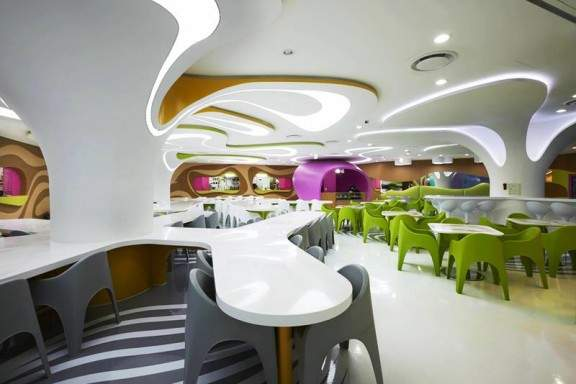 AMOJE FOOD CAPITAL par Karim RASHID (Seoul, COREE)