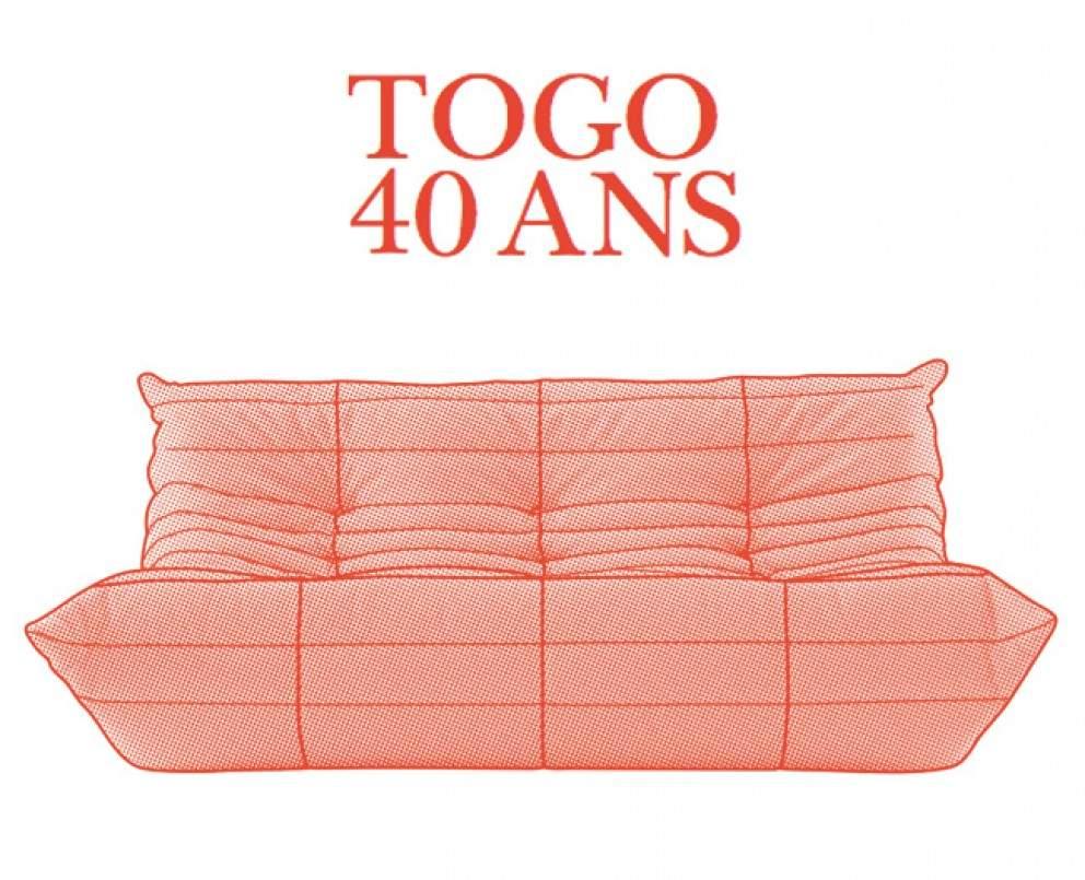 LIGNE ROSET célà¨bre les 40 ans du TOGO