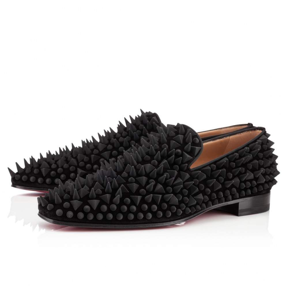CHRISTIAN LOUBOUTIN Slip-on DANDY PIK PIK VEAU VELOURS