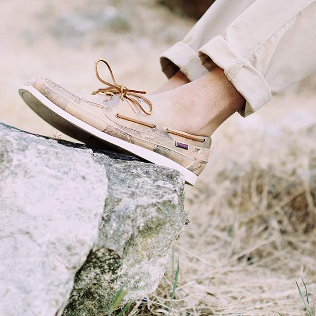 Outfit with SEBAGO x Ronnie FIEG
