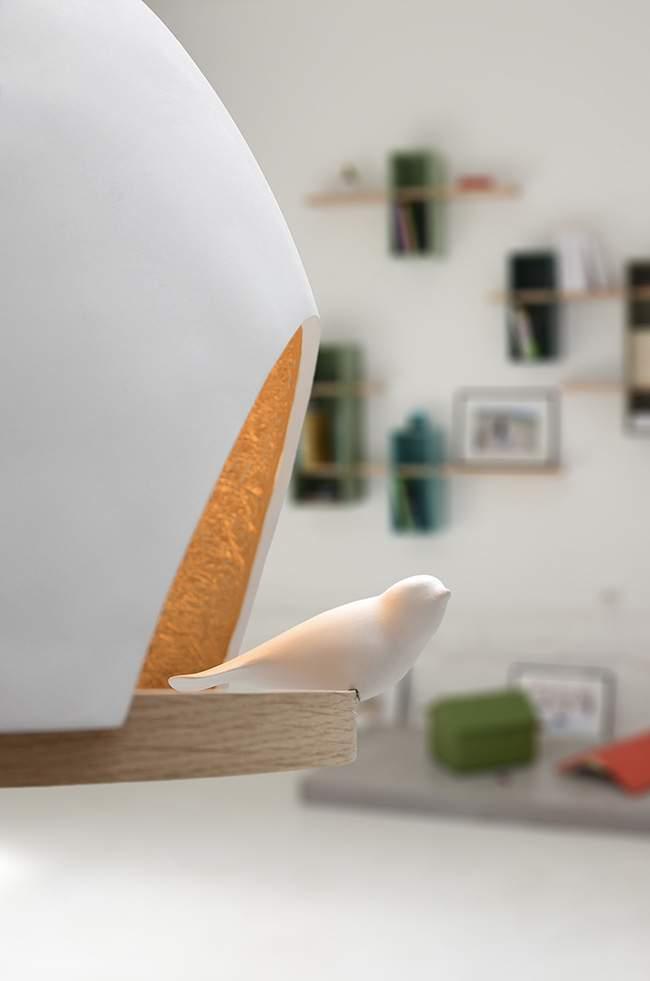 lampe oiseau par olivier chabaud x jean fran ois bellemere x compagnie jo yana. Black Bedroom Furniture Sets. Home Design Ideas