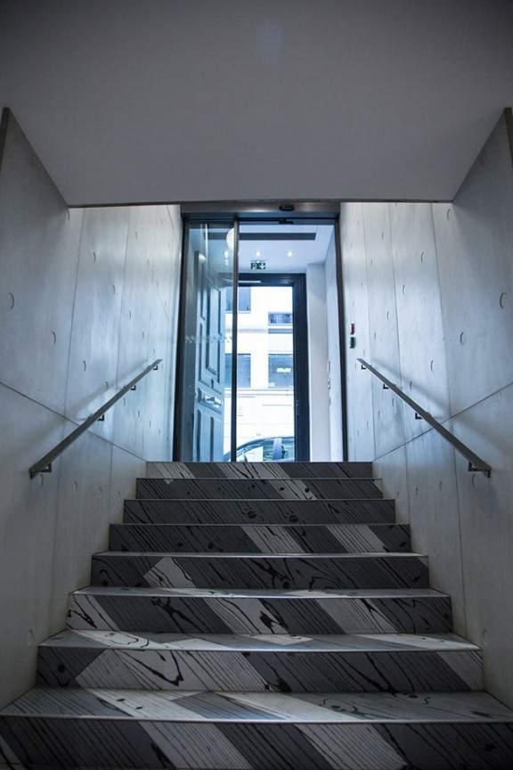 Hall d entr e bureau boissi re par tony lem le x beton lcda jo yana - Beton lcda ...