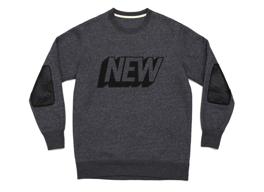 Sweatshirt STAMPD – NEW Grey Crew