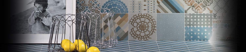 Collection de Céramiques AZULEJ par Ramacieri SOLIGO x Patricia URQUIOLA