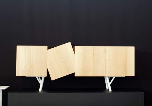 #MO13 – Buffet design FALLING BOX par Minimalist Editions