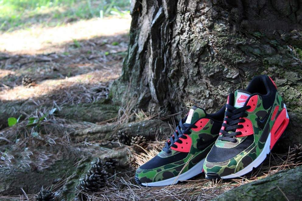 NIKE AIR MAX 90 Duck Hunter Camo Pack