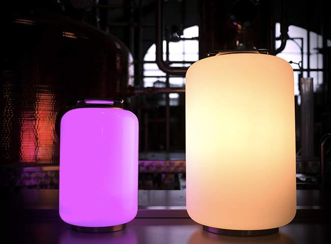 Lampe design AIR CAN LED par AllSplann x Christophe PILLET‏