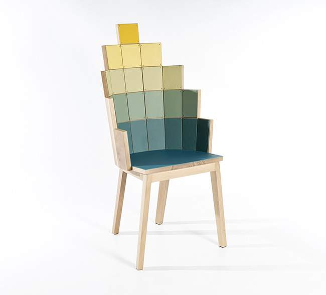 Fauteuil LOAVES&FISHES par Alessandro ZAMBELLI
