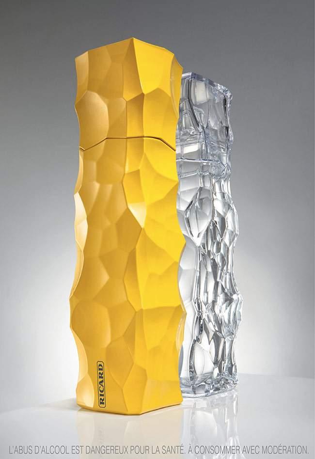 Duo de Carafes RICARD par les Architectes JAKOB+MACFARLANE