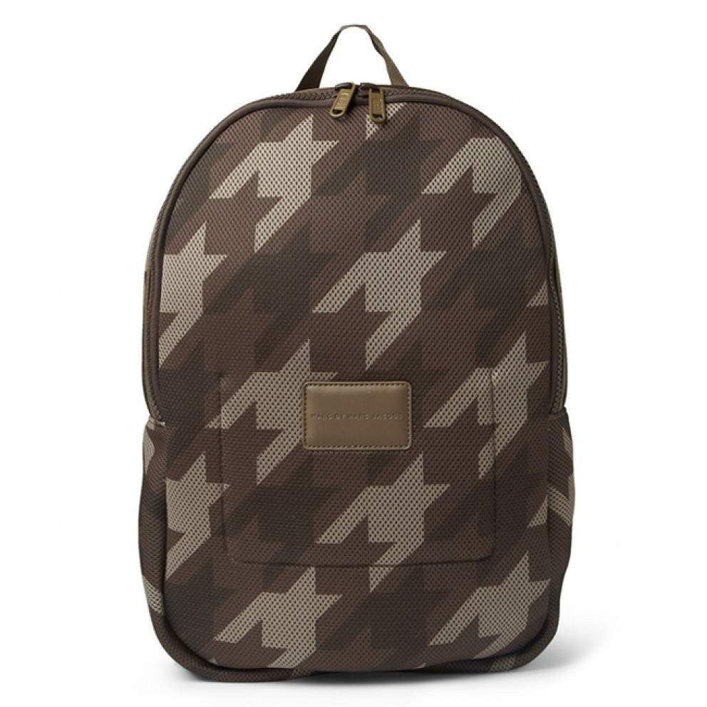 backpack MARC BY MARC JACOBS camouflage houndstooth padded mesh