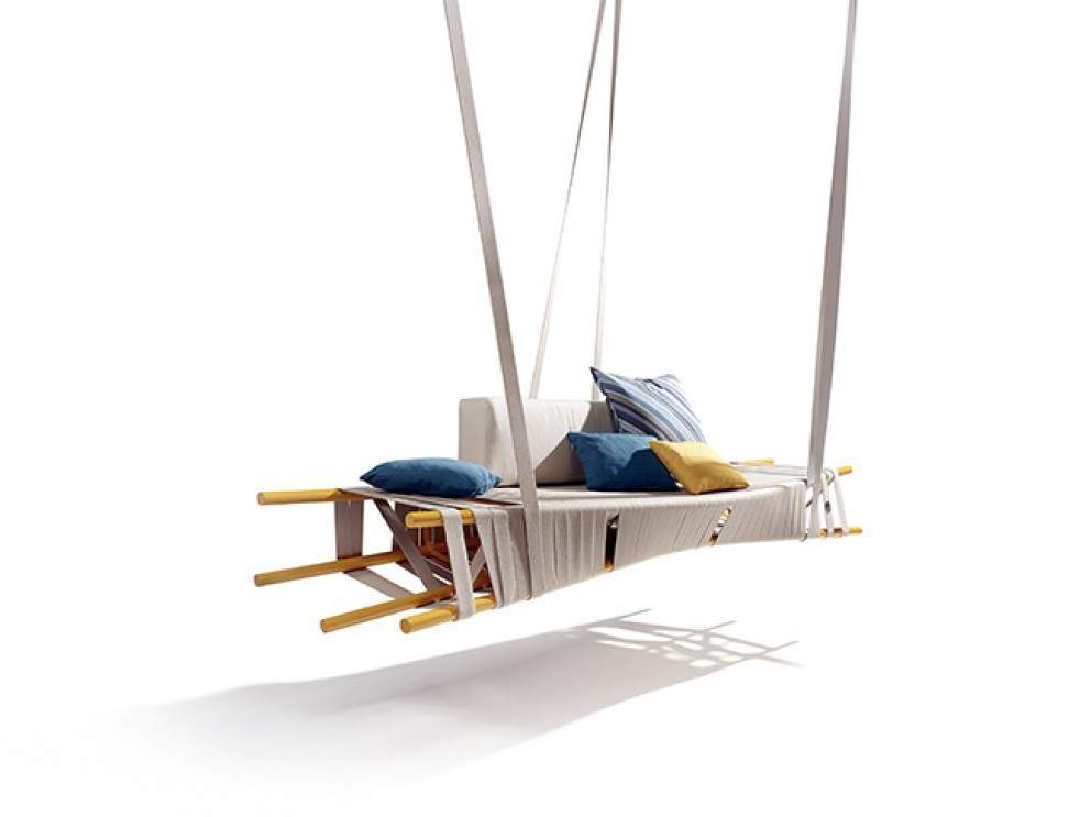 Balancelle outdoor SWING par Lionel DOYEN