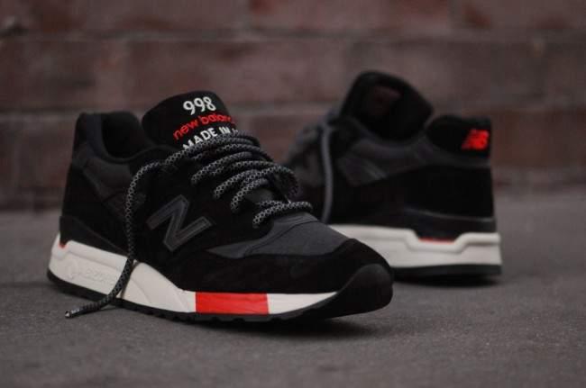new balance 998 homme noir