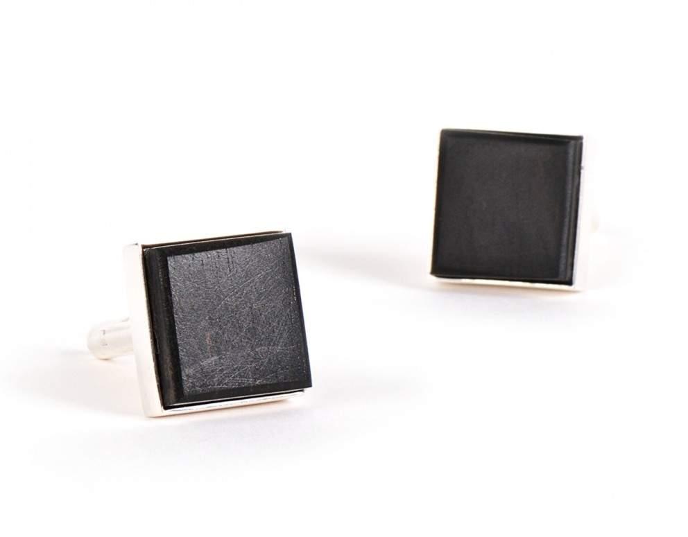 boutons-de-manchette-ensemble-noir bois