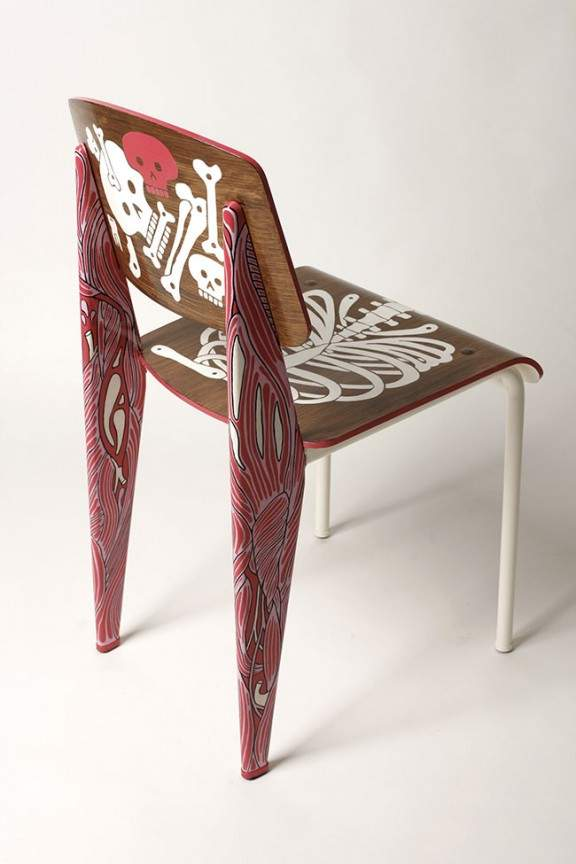 Chaise vitra anatomical chair sign e ak lh by aksel jo yana - Chaise art contemporain ...