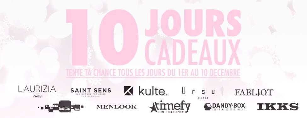 CONCOURS NOËL 2013 – 10 Jours, 10 Cadeaux… (Les Gagnants)
