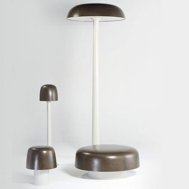 Luminaires Outdoor SHROOM par Birgitta RALSTON & Alexandre BAU x SAINTLUC