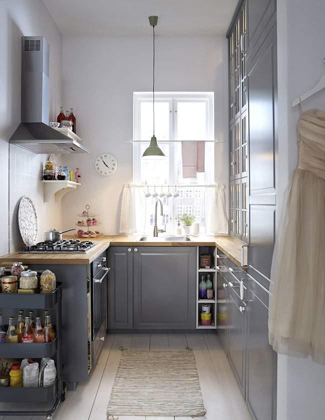 projekt kuchni wizualizacje projektowanie wn trz. Black Bedroom Furniture Sets. Home Design Ideas