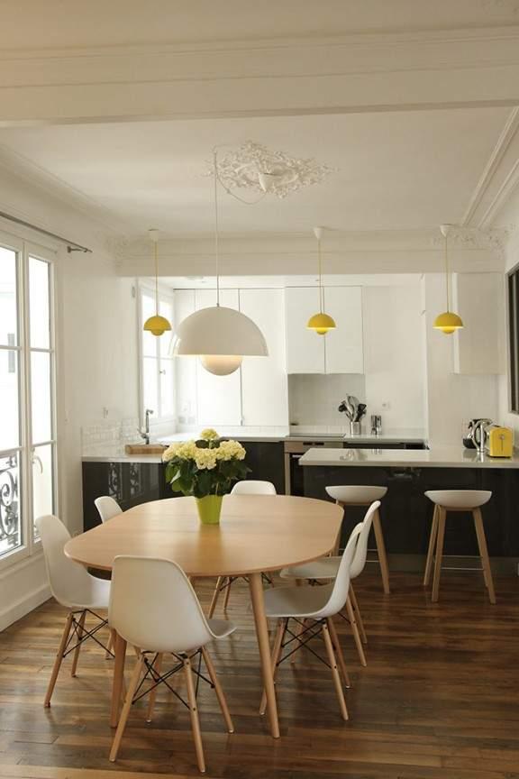 un appartement haussmannien de 85m2 par camille hermand architectures deco design blog. Black Bedroom Furniture Sets. Home Design Ideas