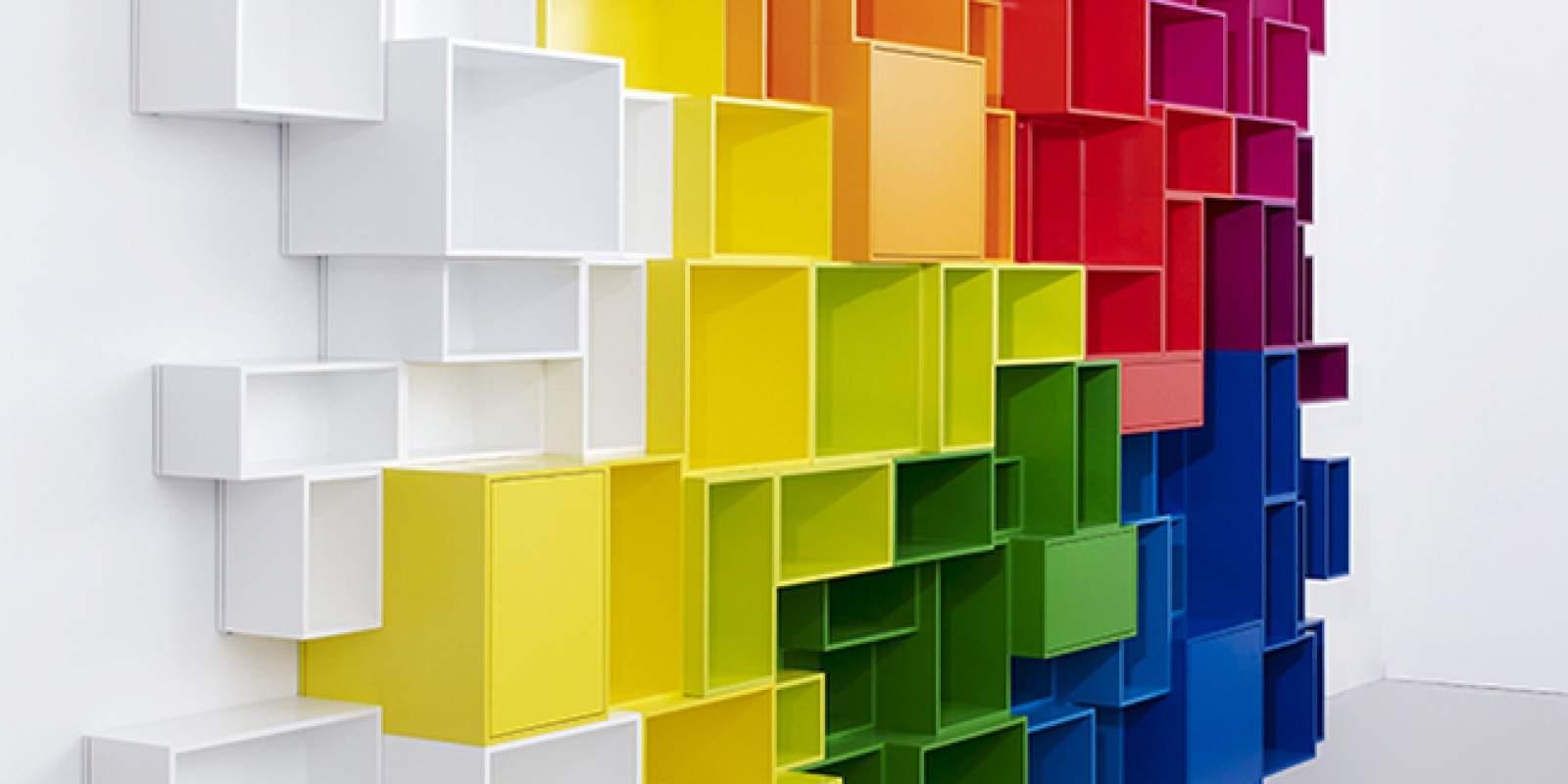 Rangement Cube Modulable Étagères de rangement modulables design cubit par mymito - jo yana