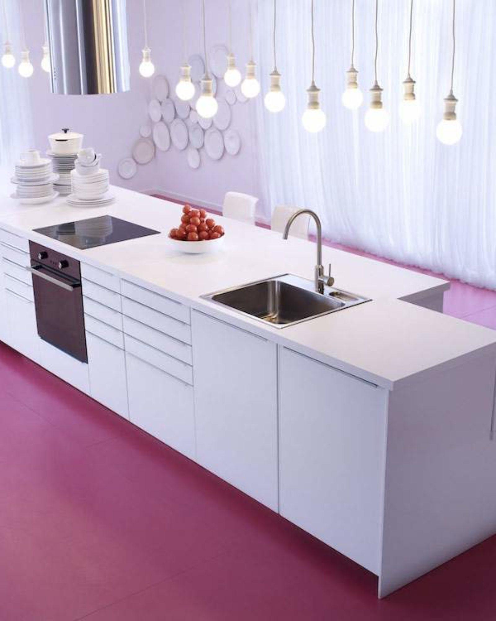 Metod Ikea VEDDINGE Blanc PE358537