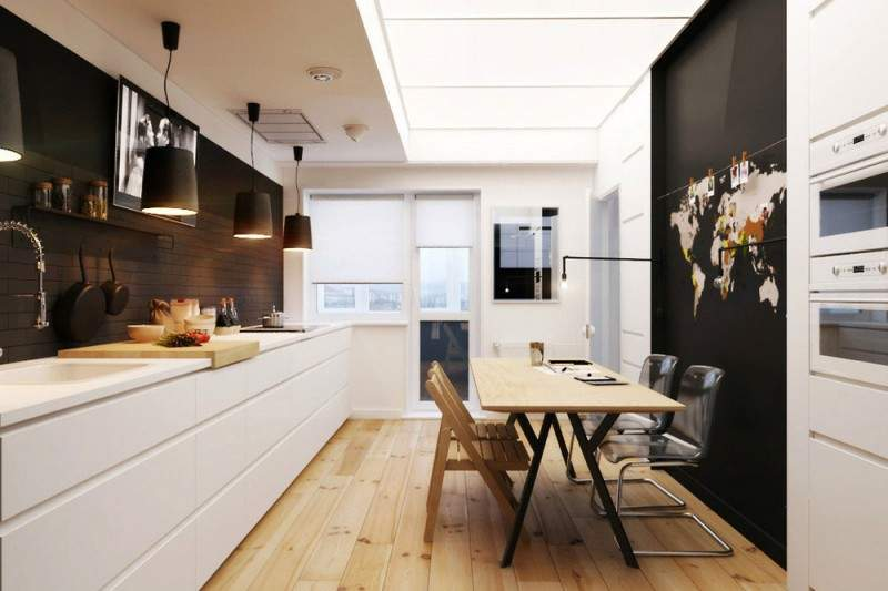 Appartement d'inspiration scandinave par Natalia AKIMOV