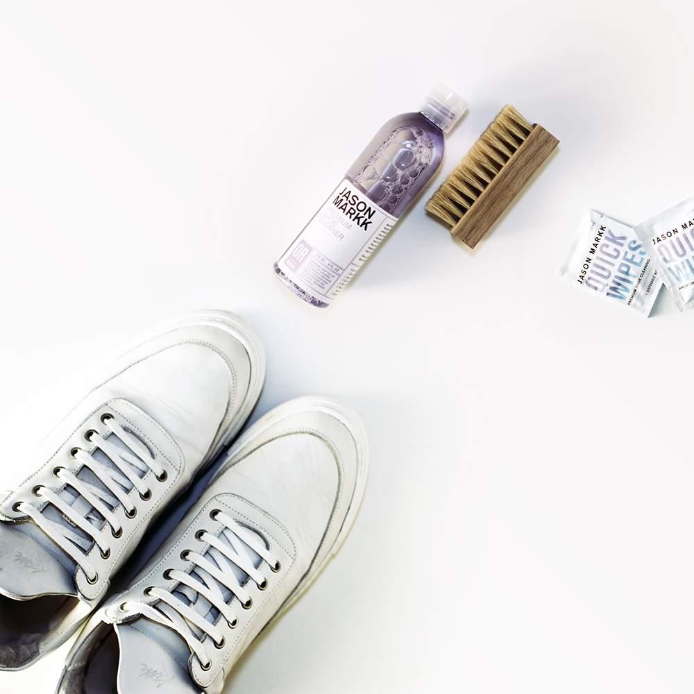 #Test – Produits d'entretien pour Sneakers JASON MARKK