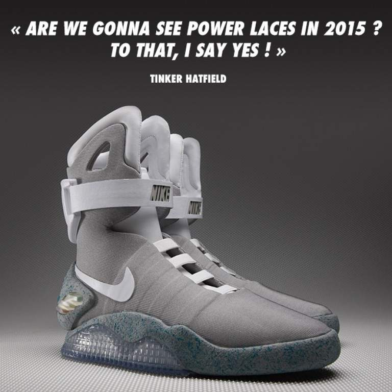 NIKE AIR MAG 2015 POWER LACES