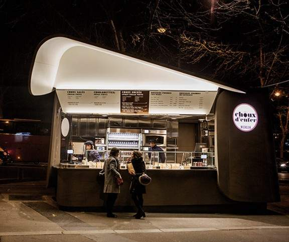 kiosque choux d 39 enfer par ducasse michalak x patrick. Black Bedroom Furniture Sets. Home Design Ideas